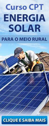 Curso CPT Energia Solar para o Meio Rural. Clique aqui e conheça!