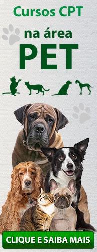 Conheça os Cursos CPT na área Pet. Clique aqui.
