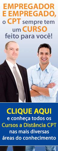 CLT - Consolidação das Leis de Trabalho. Cursos CPT Capacitação Profissional. Clique aqui e conheça.