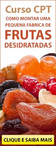 Curso CPT Como Montar uma Pequena Fábrica de Frutas Desidratadas. Clique aqui e conheça!