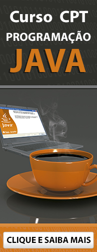 Curso CPT Programação Java. Clique aqui e conheça!
