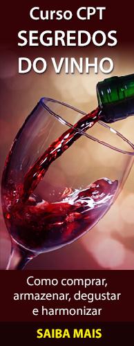 Curso CPT Segredos do Vinho - Compra, Armazenamento, Degustação e Harmonização. Clique aqui e conheça!