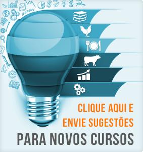 Envie sugestões para novos cursos