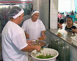 Curso Profissionalizante de Merendeira Escolar - Cozinheira Escolar