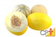 Os principais tipos de melão produzidos comercialmente pertencem a dois grupos: os inodoros ou os aromáticos.