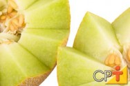 variedade Reticulatus tem casca rendilhada e polpa de coloração verde e salmão.