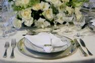 Como compor a mesa em almo�os, jantares, festas de casamentos e cerimoniais