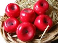 Frutas e legumes em parafina - confecção das formas e moldes