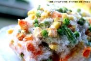 Congelamento de alimentos vegetarianos