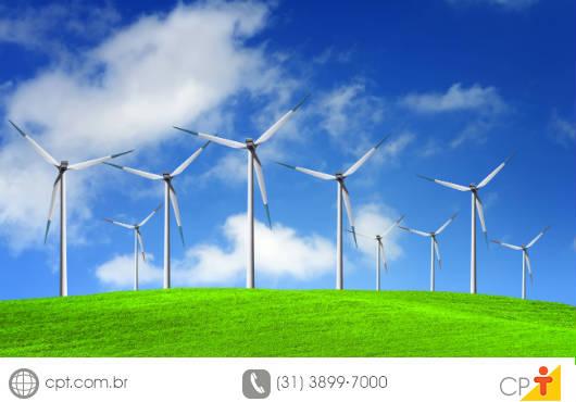 A energia eólica pode ser instalada na propriedade rural para bombear água de rios, lagos e lençóis freáticos