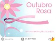 Torne o seu outubro rosa na luta contra o c�ncer de mama!