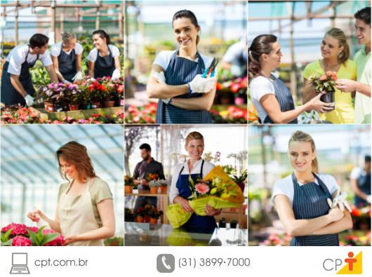 No desempenho de suas funções profissionais, o florista deve ter conhecimento dos inúmeros equipamentos e ferramentas para a elaboração dos arranjos e o preparo das flores