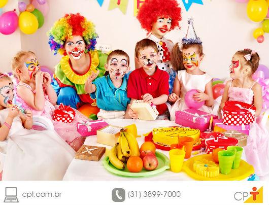 Compra de artigos para festa infantil