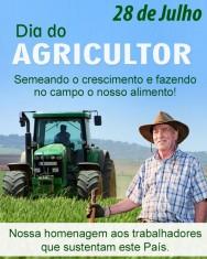 Dia do agricultor: um abra�o ao bra�o forte do Brasil!