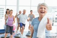 Envelhe�a com sa�de - pratique atividades f�sicas