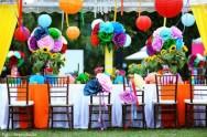 Flores de papel - última moda em decoração de festas