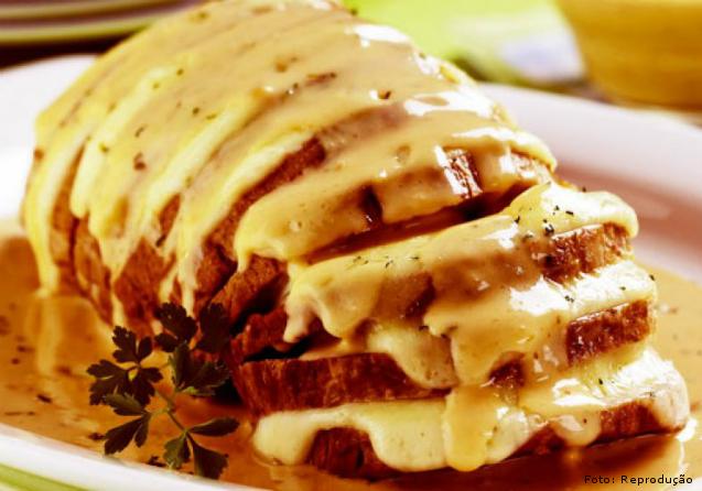 Picanha suína com queijo, geleia de abacaxi e pimenta - aprenda    Artigos Cursos CPT