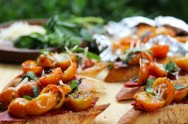 Cestinha de Alho Poró, Salada de Berinjela e Salada de Penne: aprenda fazer