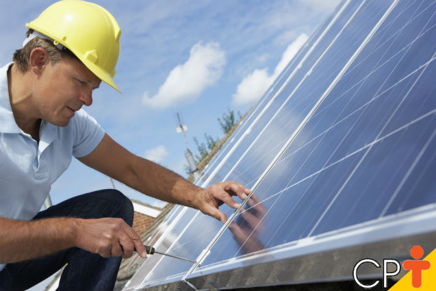 Coletores solares: instalação   Artigos Cursos CPT