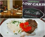 Cardápio Low Carb é novidade no Villa Alfa
