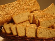 O pão integral é  ideal para quem busca ter uma alimentação mais saudável.