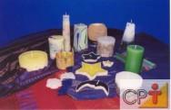 Velas decorativas: tempo de queima da vela