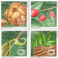 Novos selos dos Correios trazem plantas medicinais