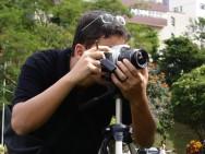 Fotografando com a câmera digital