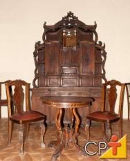 Projetos e fabricação de móveis: estilo colonial
