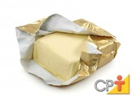 Produção de manteiga: fábrica de manteiga