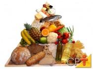 Alimentação saudável: classificação dos alimentos em grupos