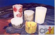 Velas decorativas: como preparar parafina comum e em gel