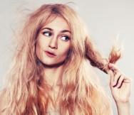 Coloração dos cabelos femininos - características dos cabelos danificados