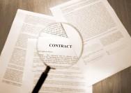 Modelo de contrato de empreitada.
