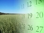 Calendário Agrícola - Sul