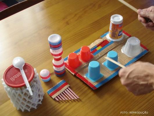 Musicalização infantil - atividades rítmicas com instrumentos