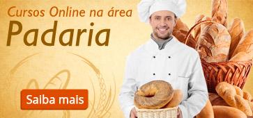 Conheça os Cursos Online da área Padaria