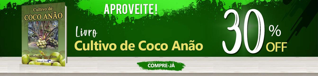 Aproveite! Livro Cultivo de Coco Anão 30% Off