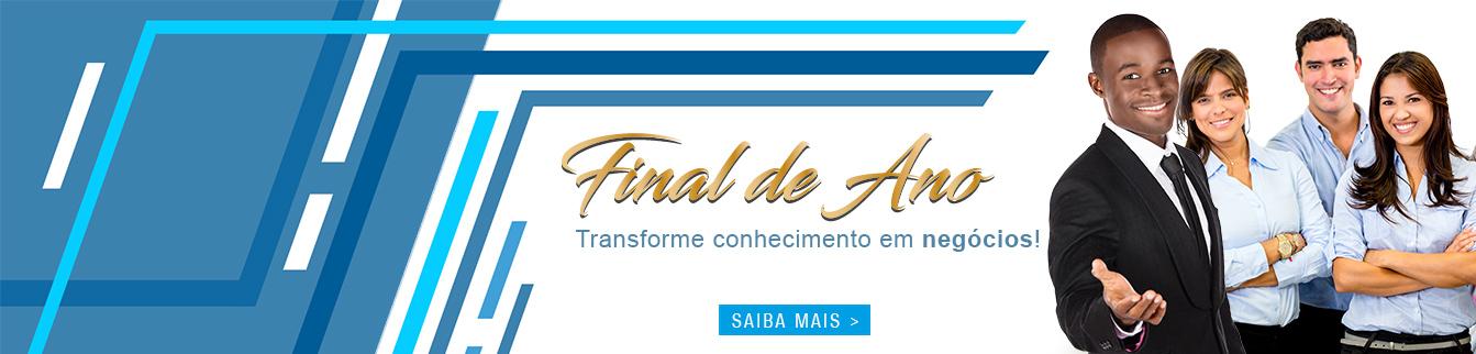 Final de ano - Transforme conhecimento em negócios!