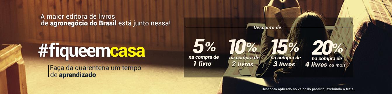 #fiqueemcasa Faça da quarentena um tempo de aprendizado! A maior editora de livros de agronegócio do Brasil está junto nessa!