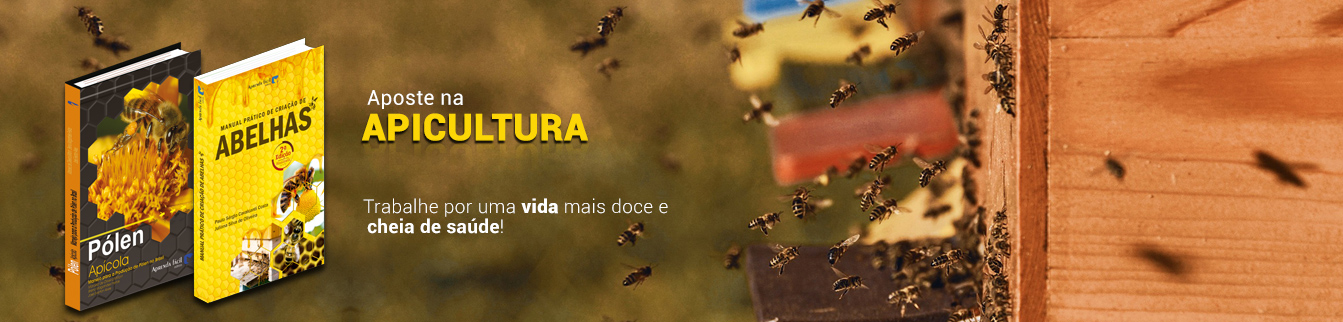 Aposte na apicultura! Trabalhe por uma vida mais doce e cheia de saúde!