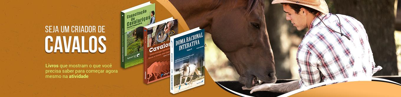 Seja um criador de cavalos! Livros que mostram o que você precisa saber para começar agora mesmo na atividade!