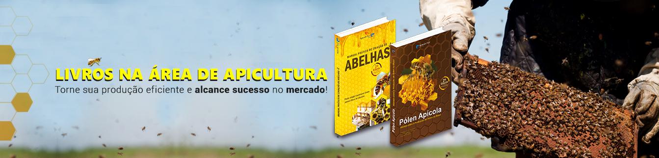 Livros na área de apicultura! Torne sua produção eficiente e alcanca sucesso no mercado!
