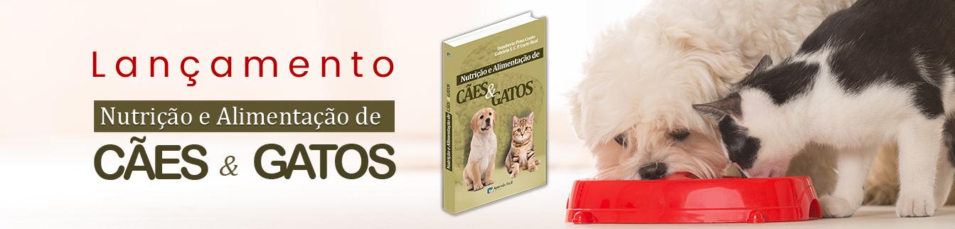 Campanha Lançamento do Livro Nutrição e Alimentação de Cães e Gatos