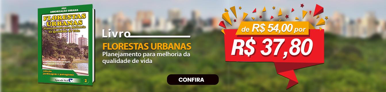 Campanha 30% Livro Florestas Urbanas