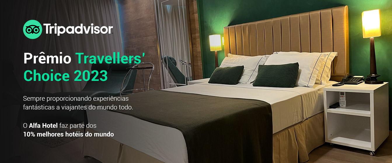 Prêmio Tripadvisor 2021 - Alfa Hotel