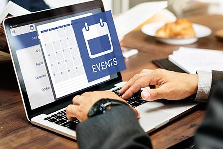 Agenda de Eventos Empresariais