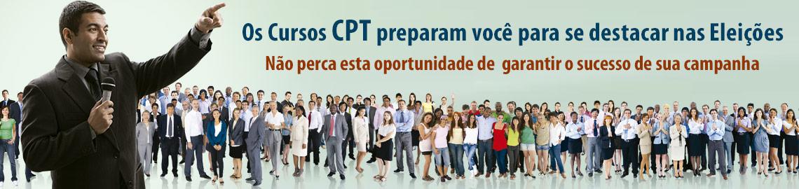 Campanha: Candidatos, preparem sua campanha para as eleições 2012 com os Cursos CPT