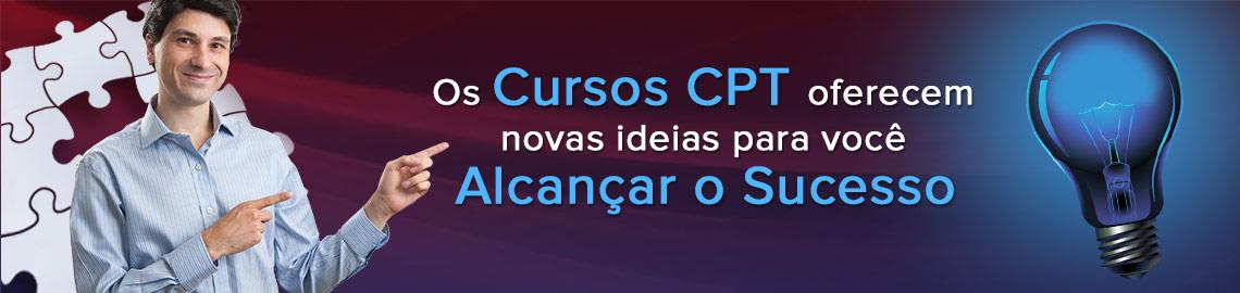 Campanha: Alcance o sucesso com os Cursos CPT