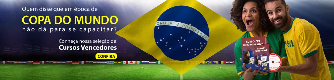 Quem disse que em época de copa do mundo não dá para se capacitar? Conheça os Cursos Vencedores